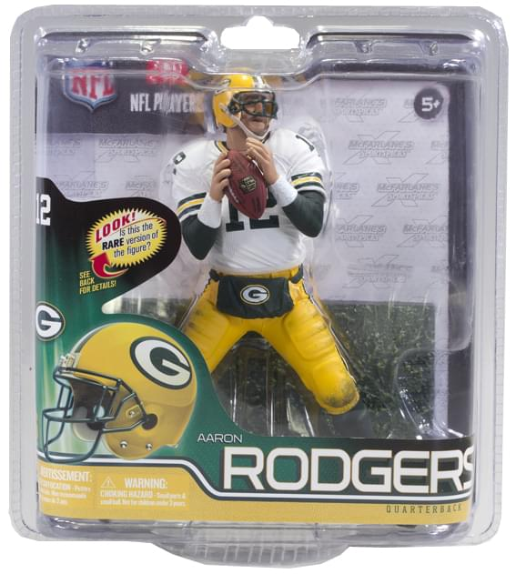 Green Bay Packers McFarlane NFL S30 Figure: Aaron Rodgers (Autograph Chase)