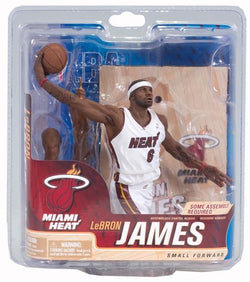 Mcfarlane NBA Series 21 Figure Lebron James 2 Miami Heat