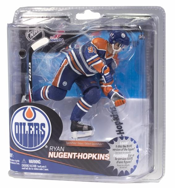 McFarlane NHL Series 31 Figure Ryan Nugent-Hopkins Edmonton Oilers