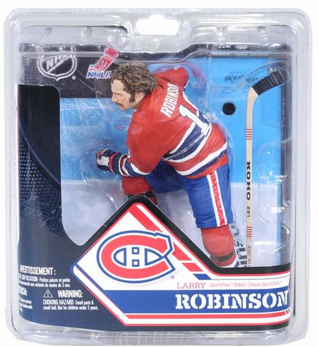 McFarlane NHL Series 32 Figure Larry Robinson Montreal Canadiens