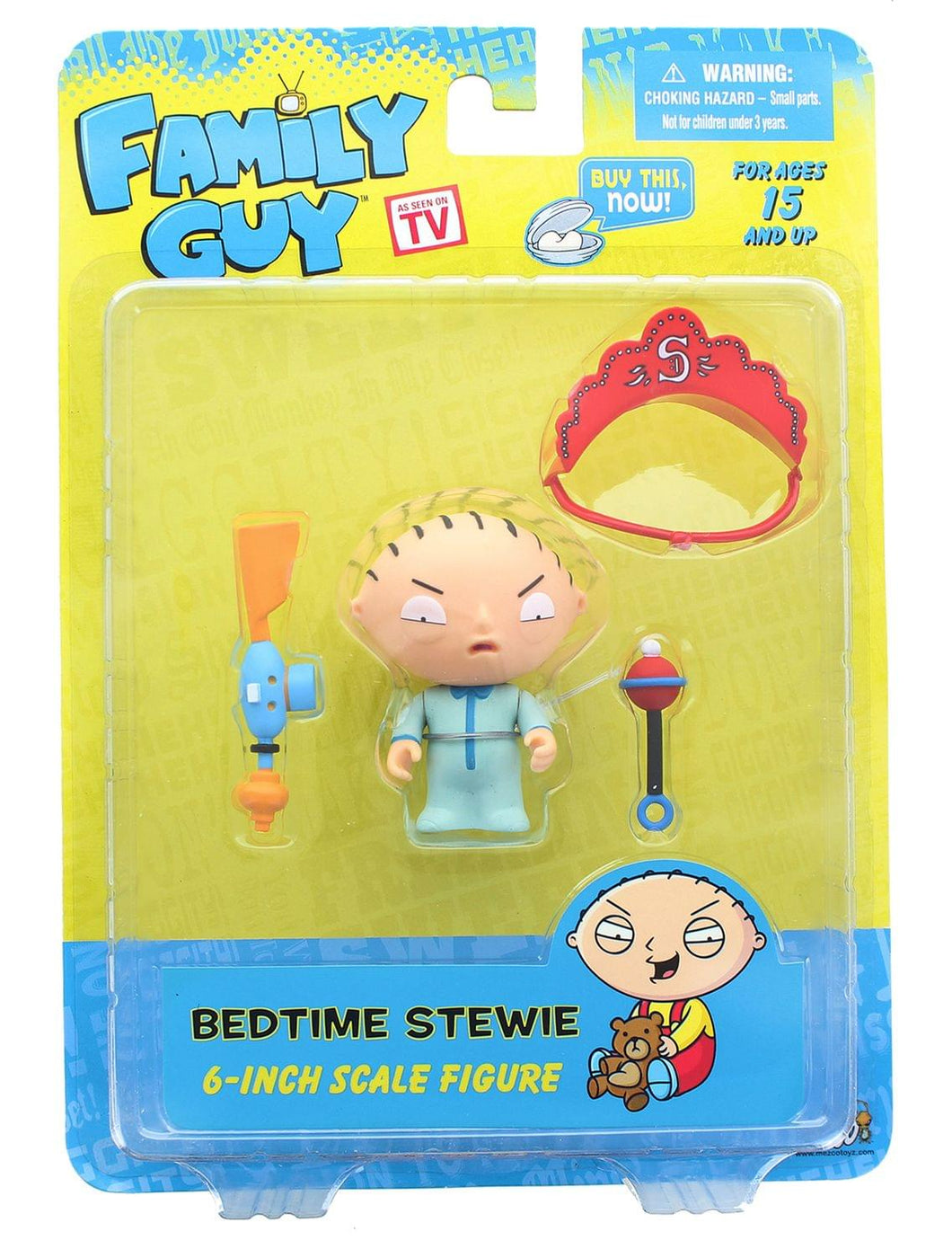 Family Guy Classics Series 2 Bedtime Stewie Figure