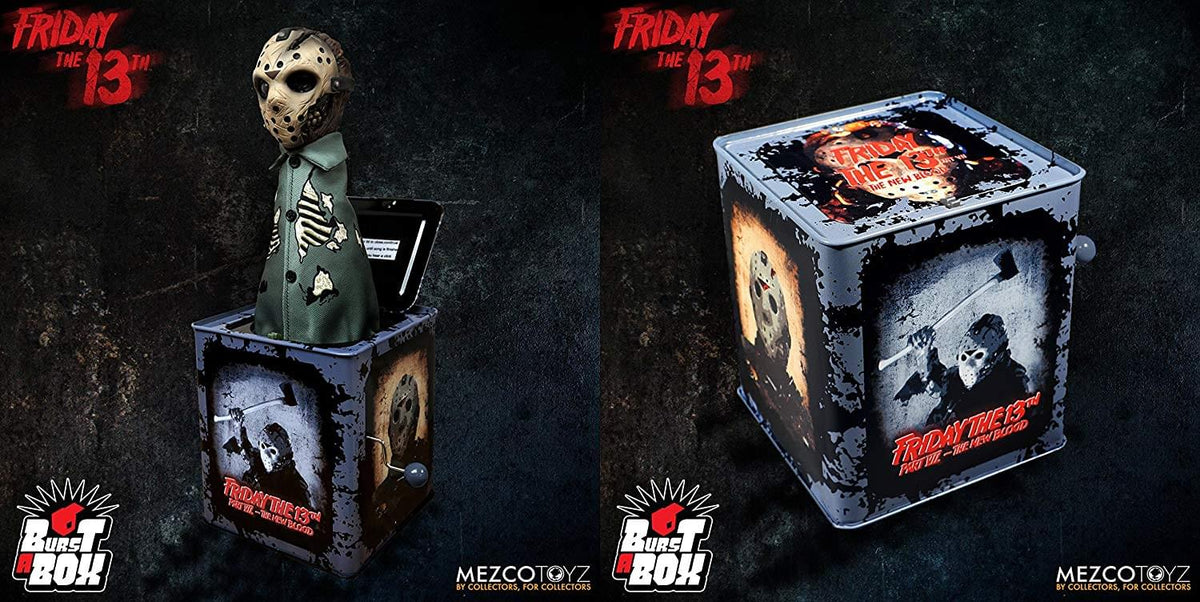 Friday the 13th Part VII Jason Voorhees Mezco Burst-A-Box