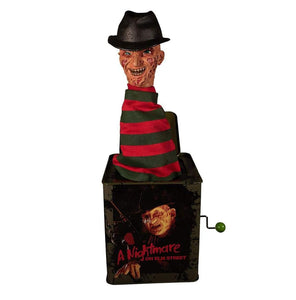 A Nightmare on Elm Street Freddy Krueger Mezco Burst-A-Box