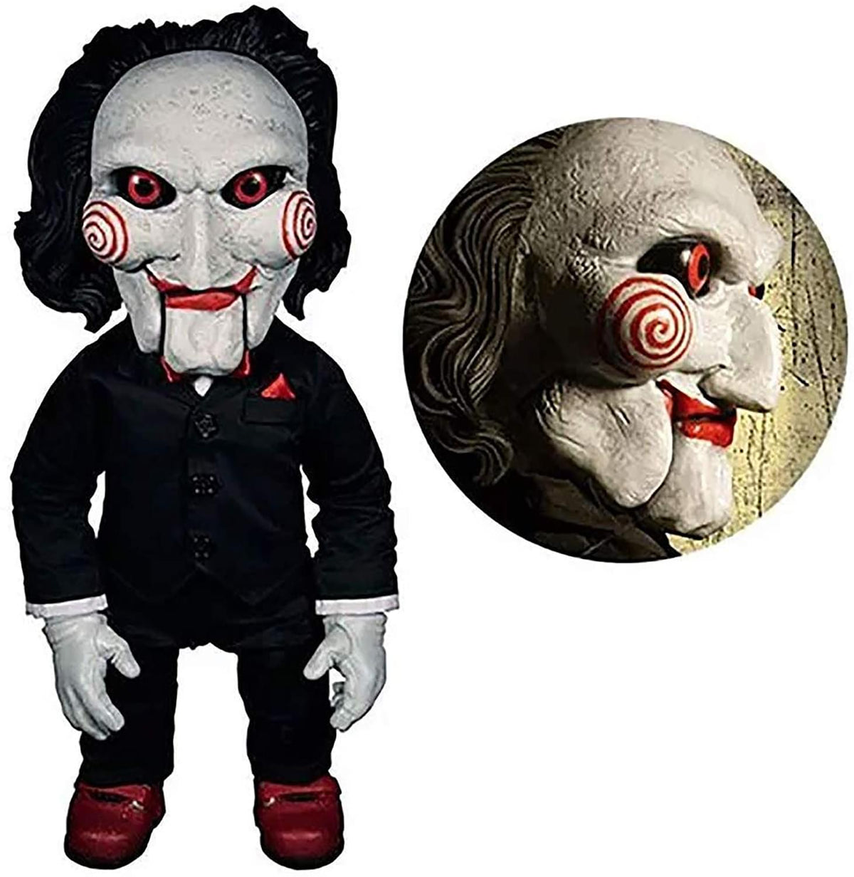 Saw Billy Pupper 15 Inch Mega Scale Talking Figure