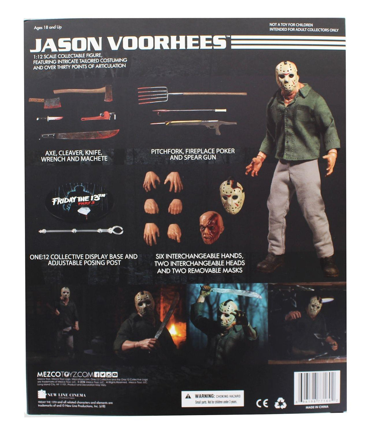 Friday the 13th Part 3 One 12 Collective Jason Voorhees Action Figure