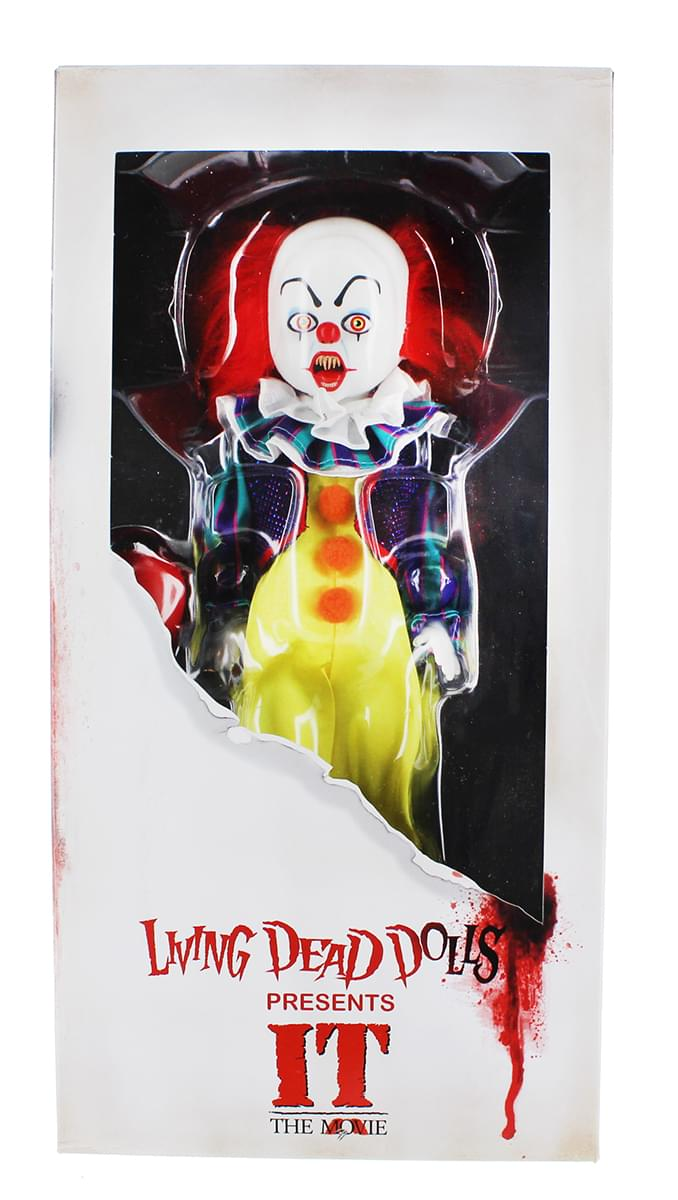 Mezco Toyz Living Dead Dolls IT 1990 Pennywise Collectible Doll