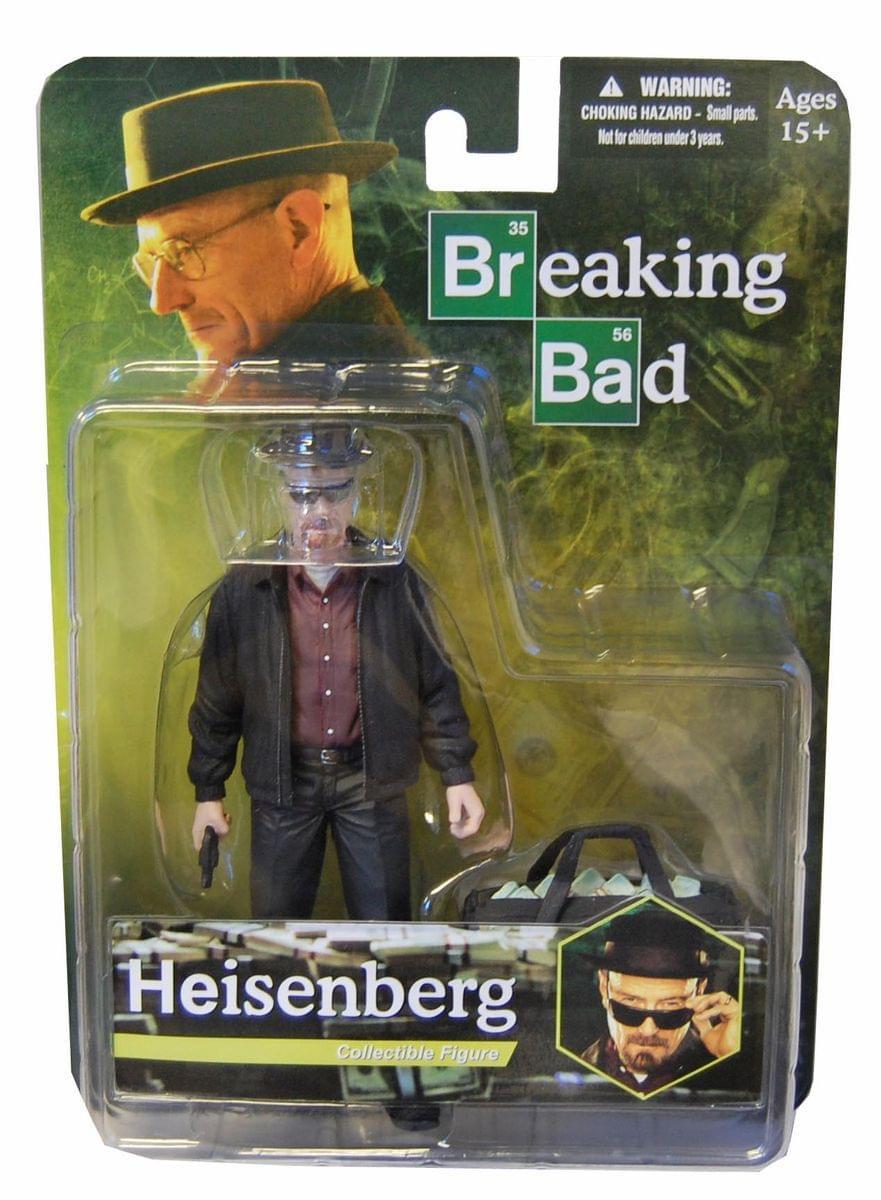 "Breaking Bad Walter White Heisenberg 6"" Action Figure"