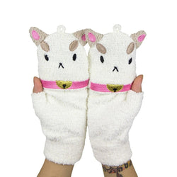 Bee and PuppyCat Fleece Mittens
