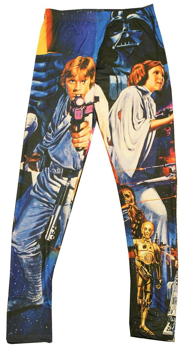 Star Wars Saber Wars Adult Costume Leggings