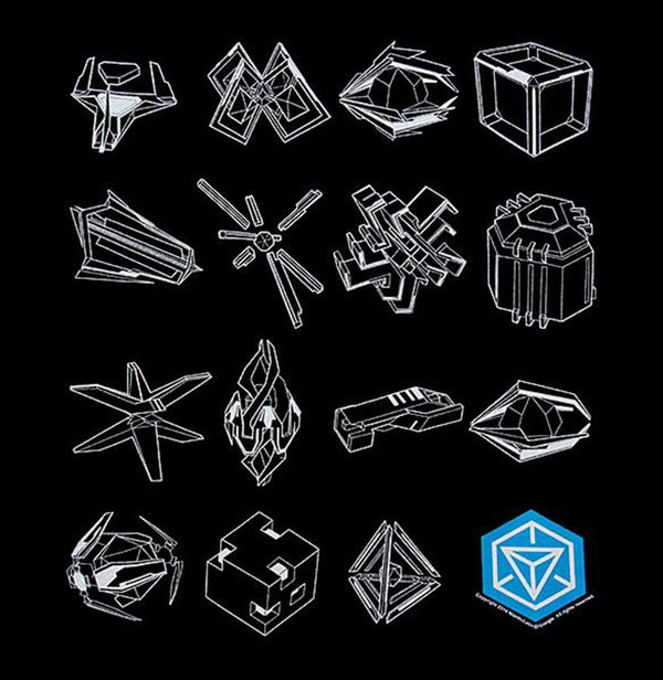 Ingress Tools of War Adult T-Shirt