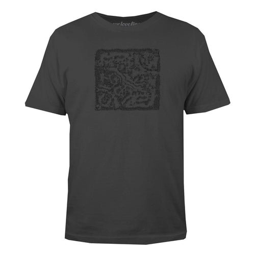 DOTA 2 Battlefield Logo Men's Charcoal Tee with Digital Unlock Code