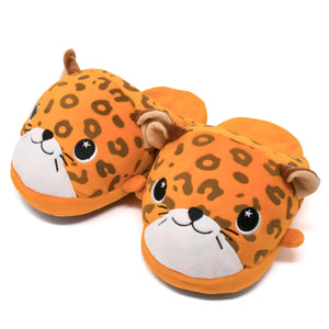 Moosh-Moosh Adult Plush Slipperz - Spotty the Leopard