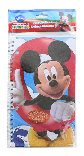 Disney Mickey Mouse Clubhouse Personalized Deluxe Planner