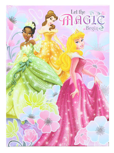 Disney Princesses Cinderella/Belle/Snow White 5x7 Inch Hardcover Journal