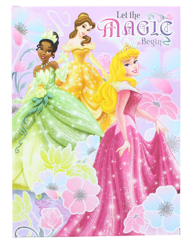Disney Enchanted Princesses 5x7 Inch Hardcover Journal