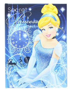 Disney Secret Princess Cinderella 5x7 Inch Hardcover Journal