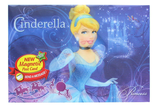Disney Cinderella 3D Motion Picture Card Magnet