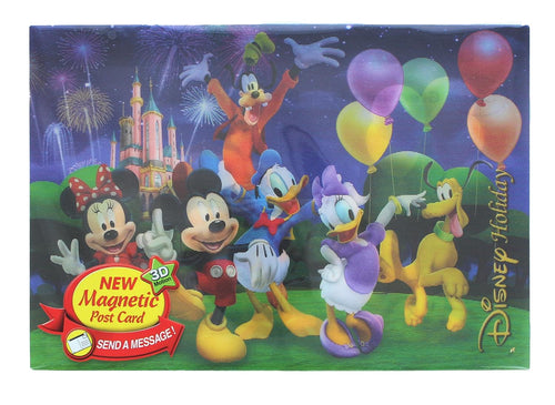 Disney Mickey Mouse & Gang 3D Motion Picture Card Magnet