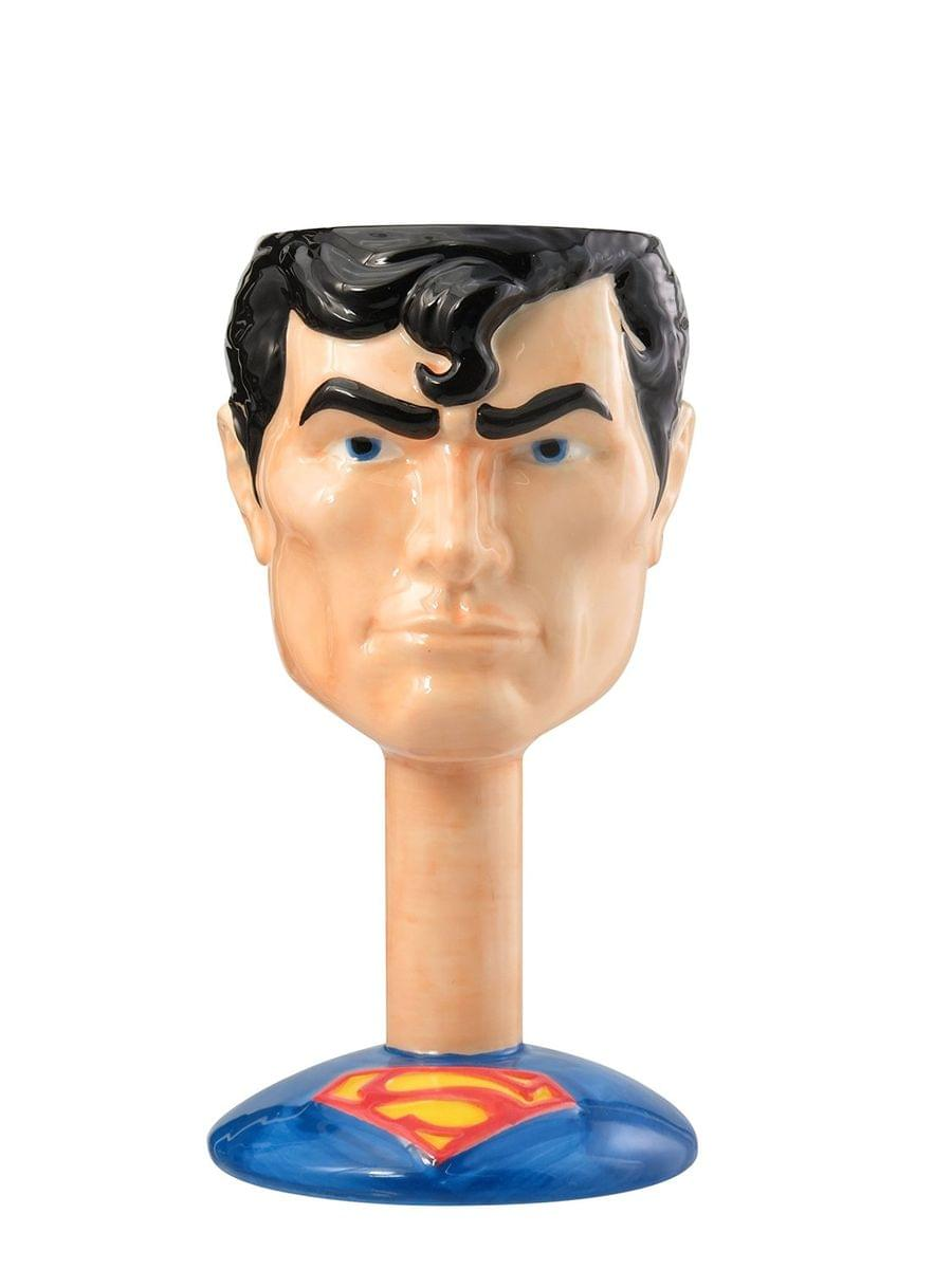 DC Comics Ceramic Molded Goblet: Superman