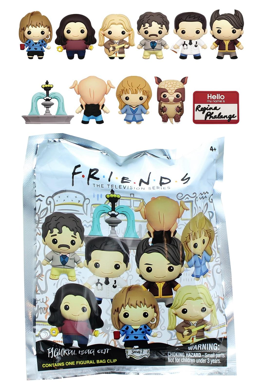 Friends The Television Series 2 Figural Bag Clip Turkey Joey