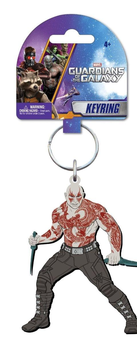 "Marvel Guardians Of The Galaxy Soft Touch PVC Key Ring: ""Drax"""