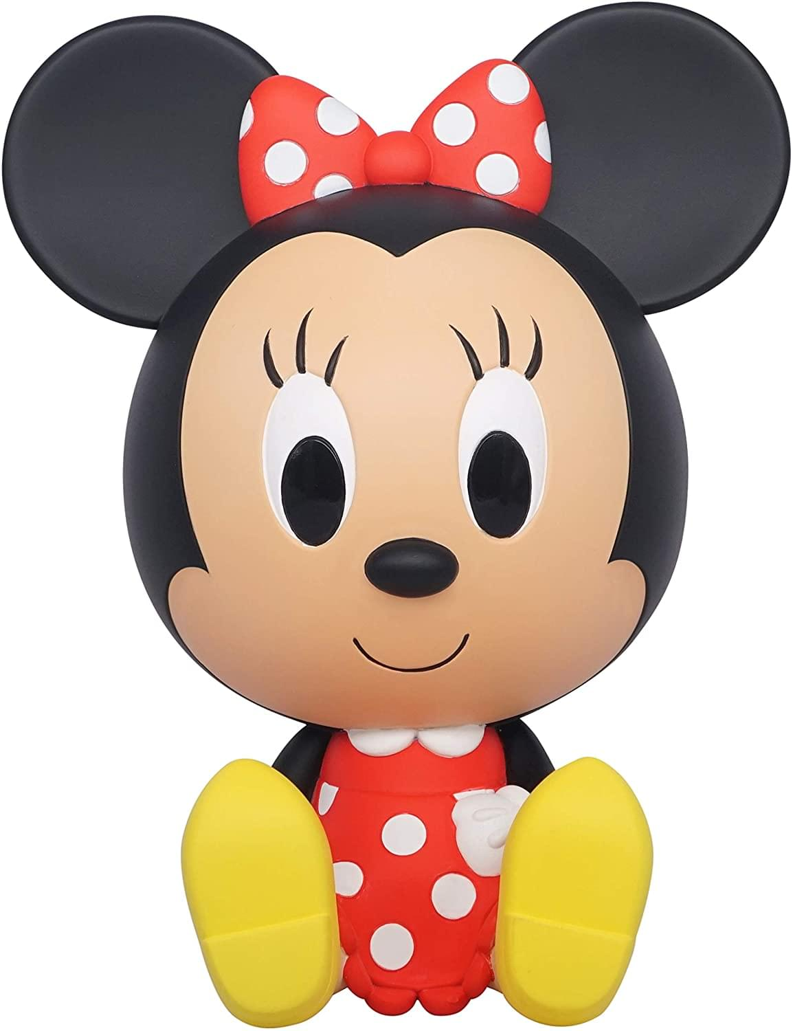 Minnie Mouse Sitting 8 Inch PVC Figural Bank