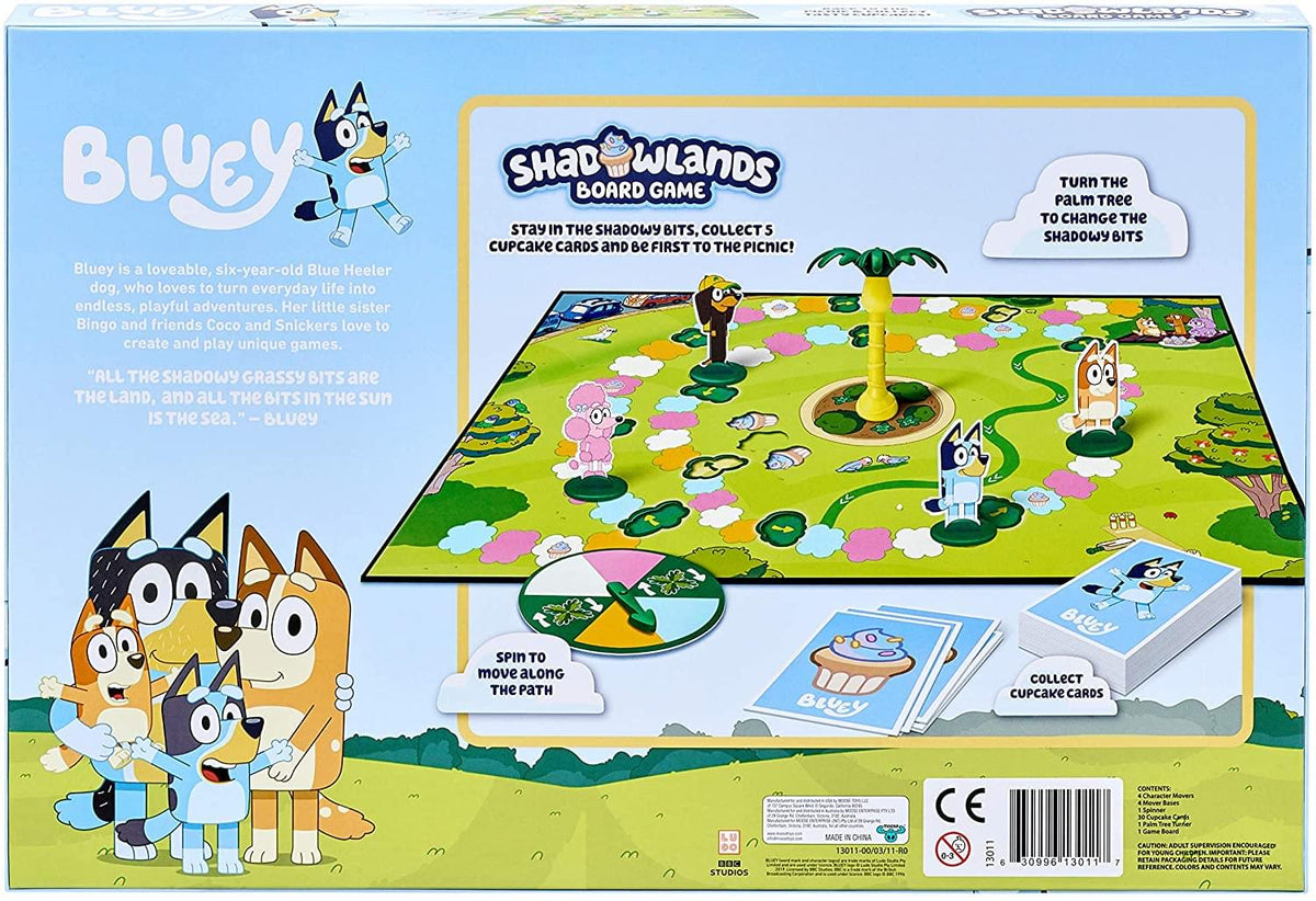 Bluey Shadowlands Family Board Game | For 2-4 Players