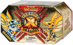 Treasure X Quest for Dragons Gold Deluxe Dragon Figure | One Random