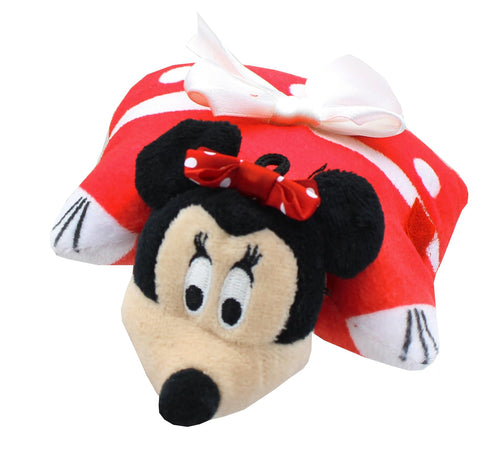 Disney Red Minnie Mouse 5 Inch Mini Pillow Pet Plush