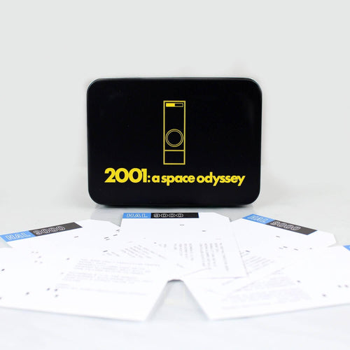 2001 A Space Odyssey HAL AE-35 Data Card Set