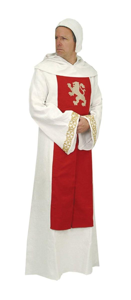 Assassins Creed Crusader Priest Costume Robe