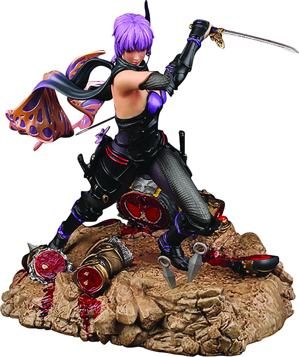 "Ninja Gaiden 3: 13"" 1:6 Scale Ayane Resin Statue With LED Lighting"