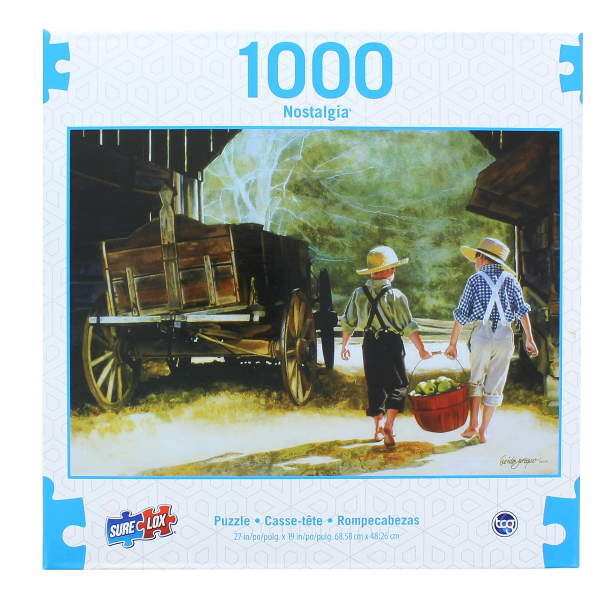 Nostalgia 1000 Piece Jigsaw Puzzle | The Apple Pickers