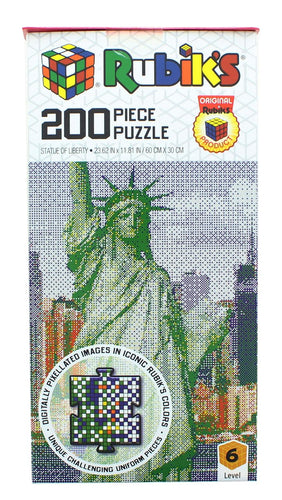 Rubiks 200 Piece Jigsaw Puzzle | Statue Of Liberty