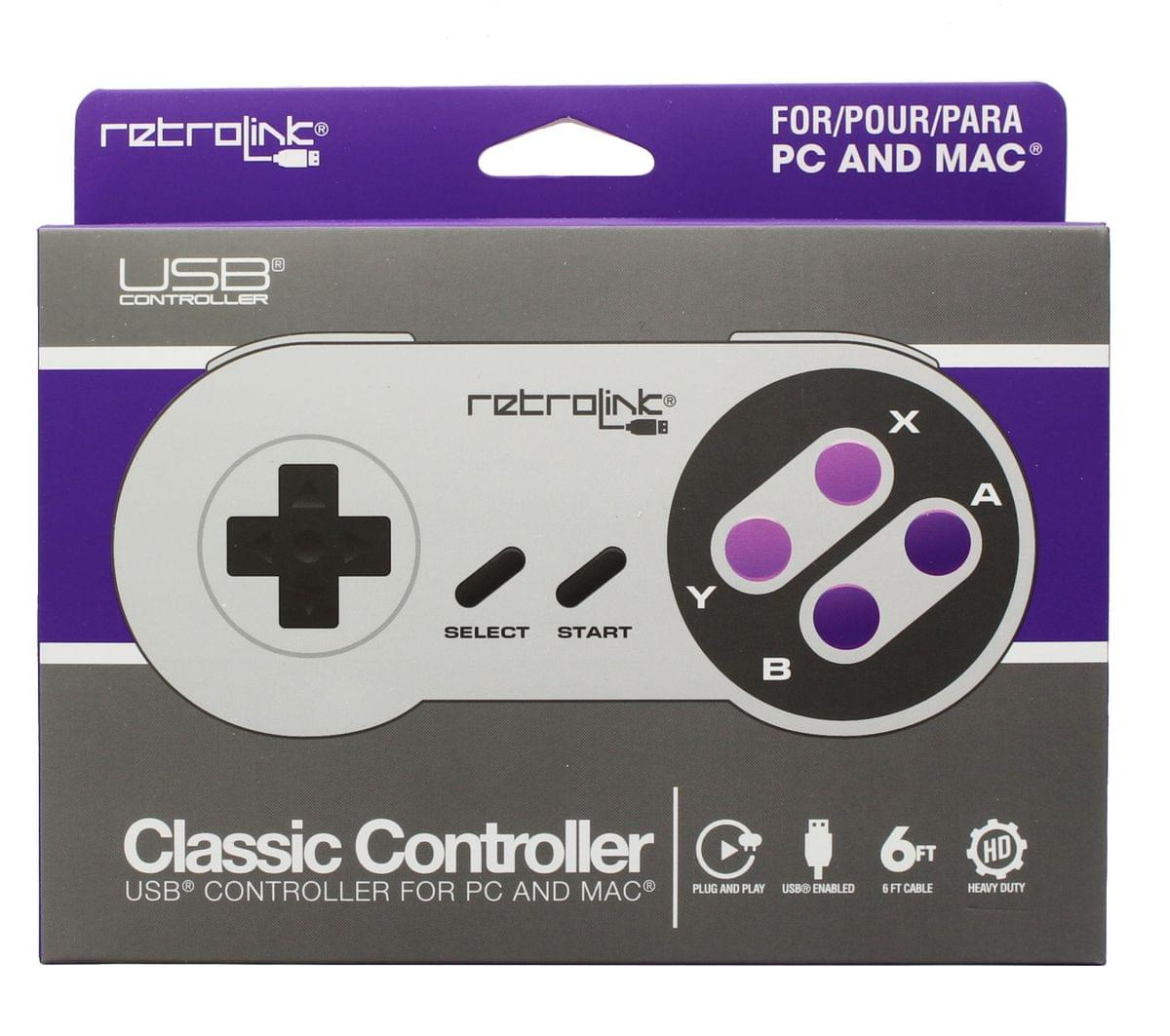 Retrolink USB Super Classic Controller