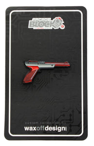 Nintendo NES Zapper Gun Enamel Collector Pin