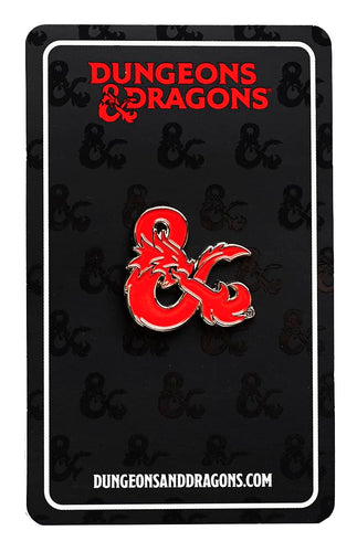 Dungeons & Dragons Logo Enamel Collector Pin