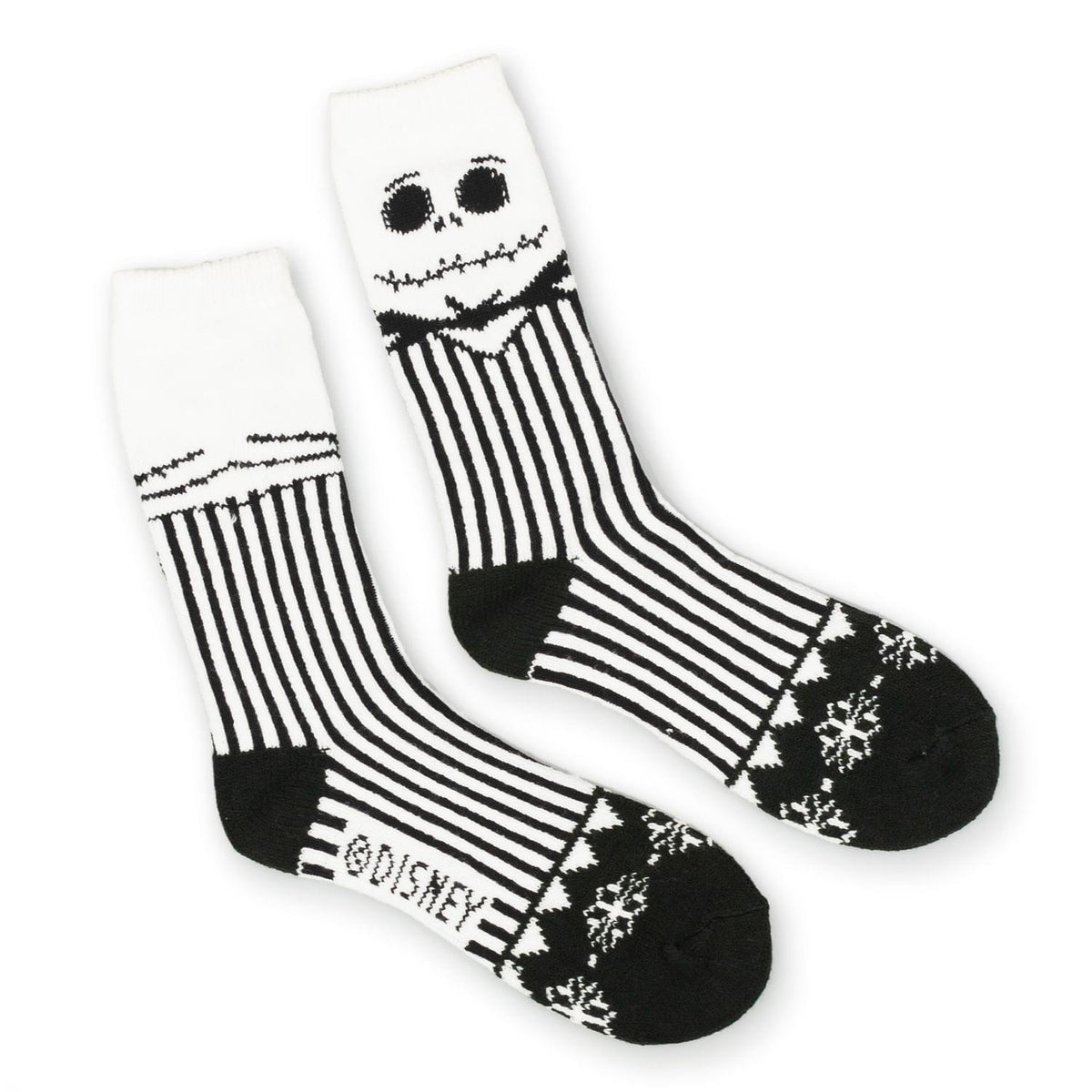 The Nightmare Before Christmas Ugly Sweater Socks | Toynk Toys