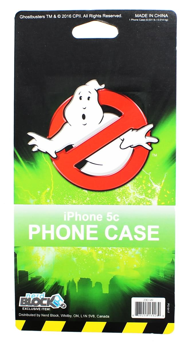 "Ghostbusters ""Who You Gonna Call"" iPhone 5c Case"