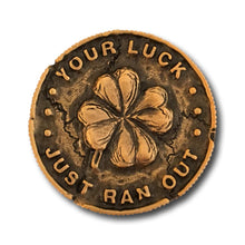 Load image into Gallery viewer, Leprechaun Gold Coin Collector Pin