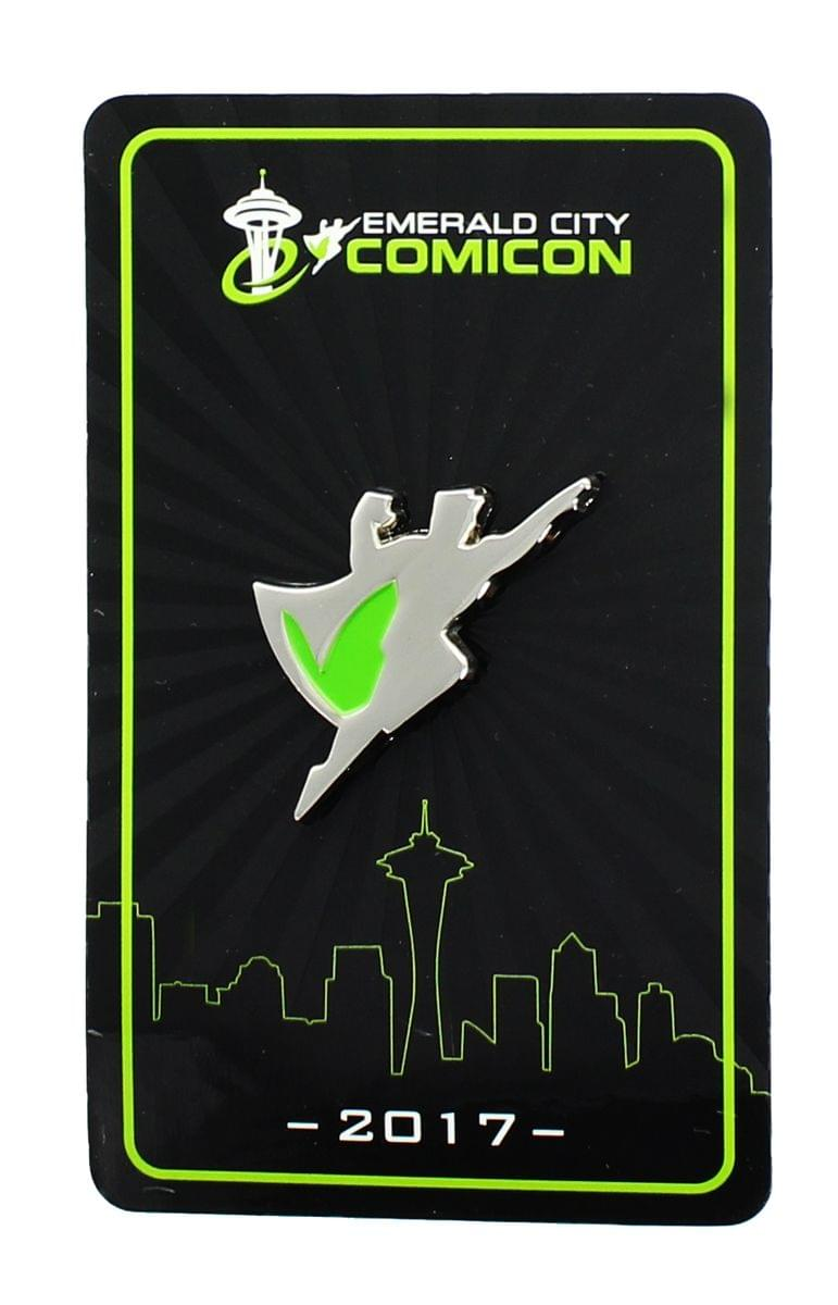 Emerald City Comicon 2017 Collector Pin