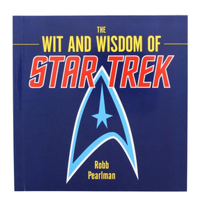 The Wit and Wisdom of Star Trek Paperback Book