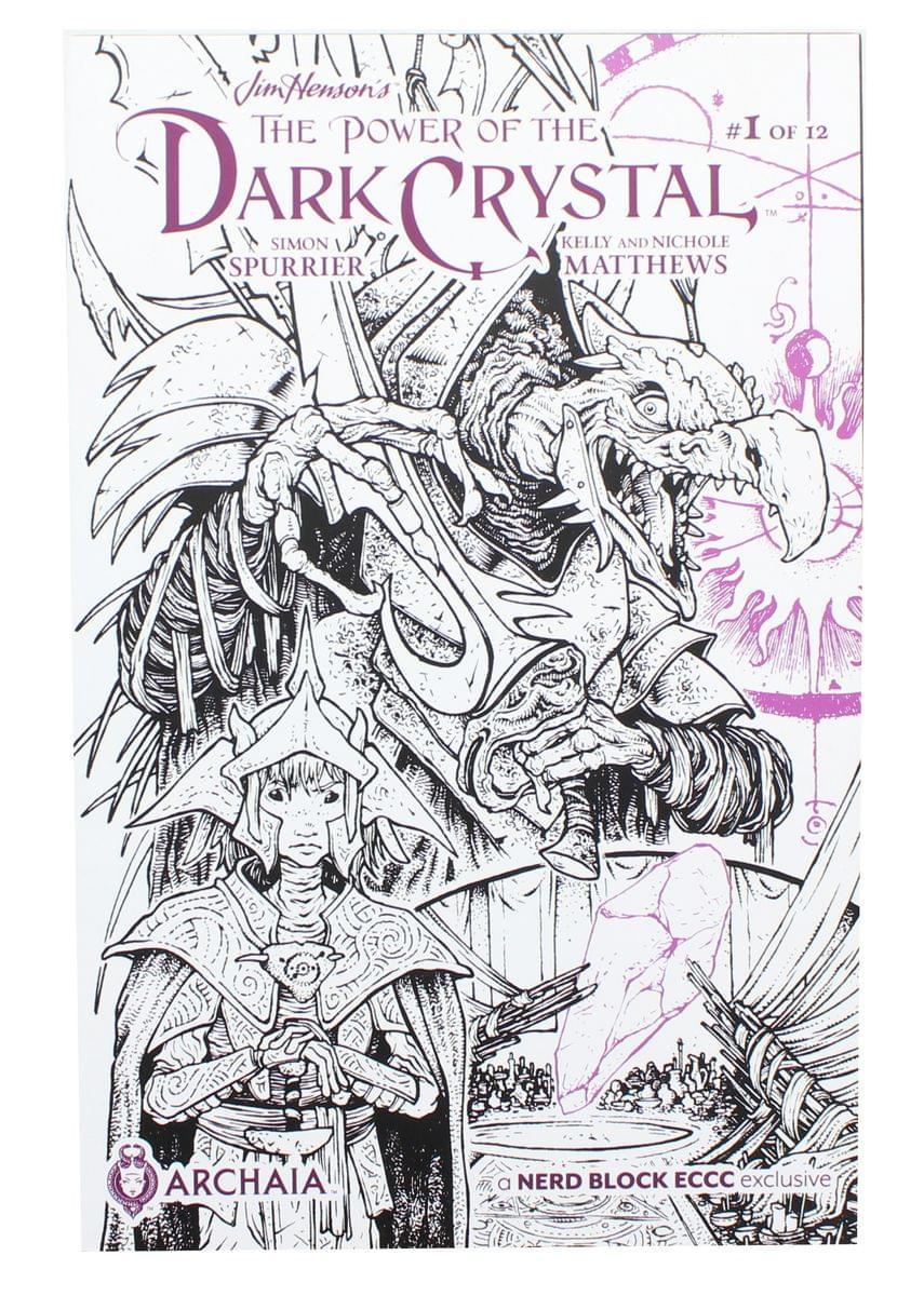 Jim Henson's The Power of the Dark Crystal #1 (Nerd Block Exlusive Cover)