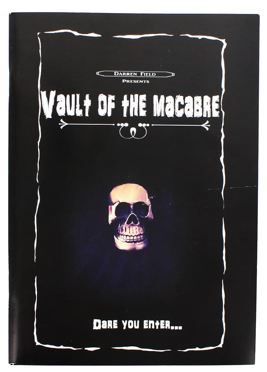 Vault of the Macabre Horror Poem Book