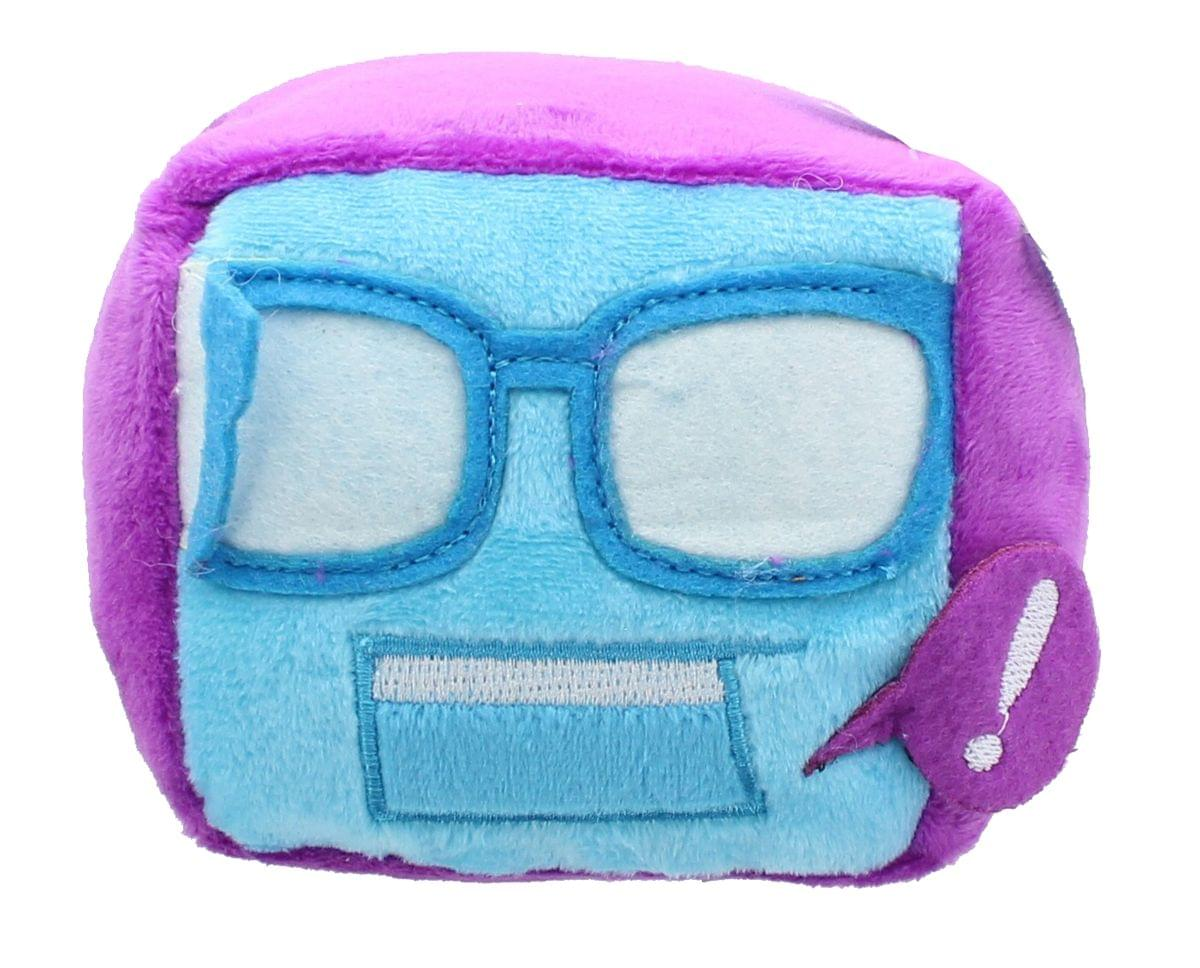 Nerd Block Cube Plush, Purple