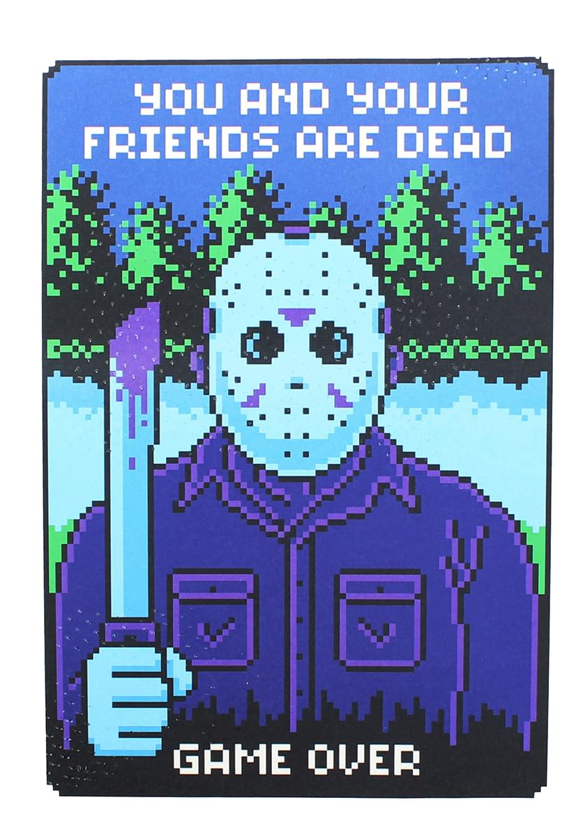"Friday the 13th NES Video Game 8"" x10"" Art Print"