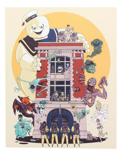 Ghostbusters 2 8x10 Art Print by Fredrik Eden (Nerd Block Exclusive)
