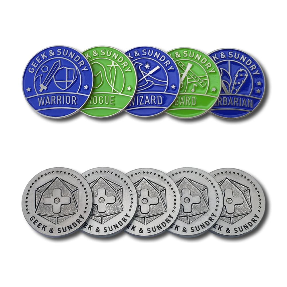 Geek Sundry Player Token Set