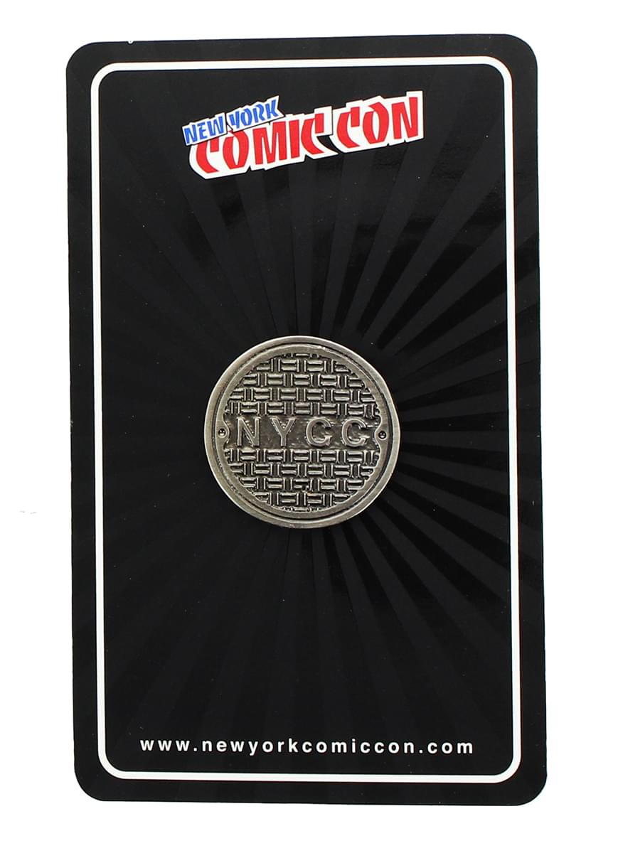 NYCC Sewer Lid Collector Pin