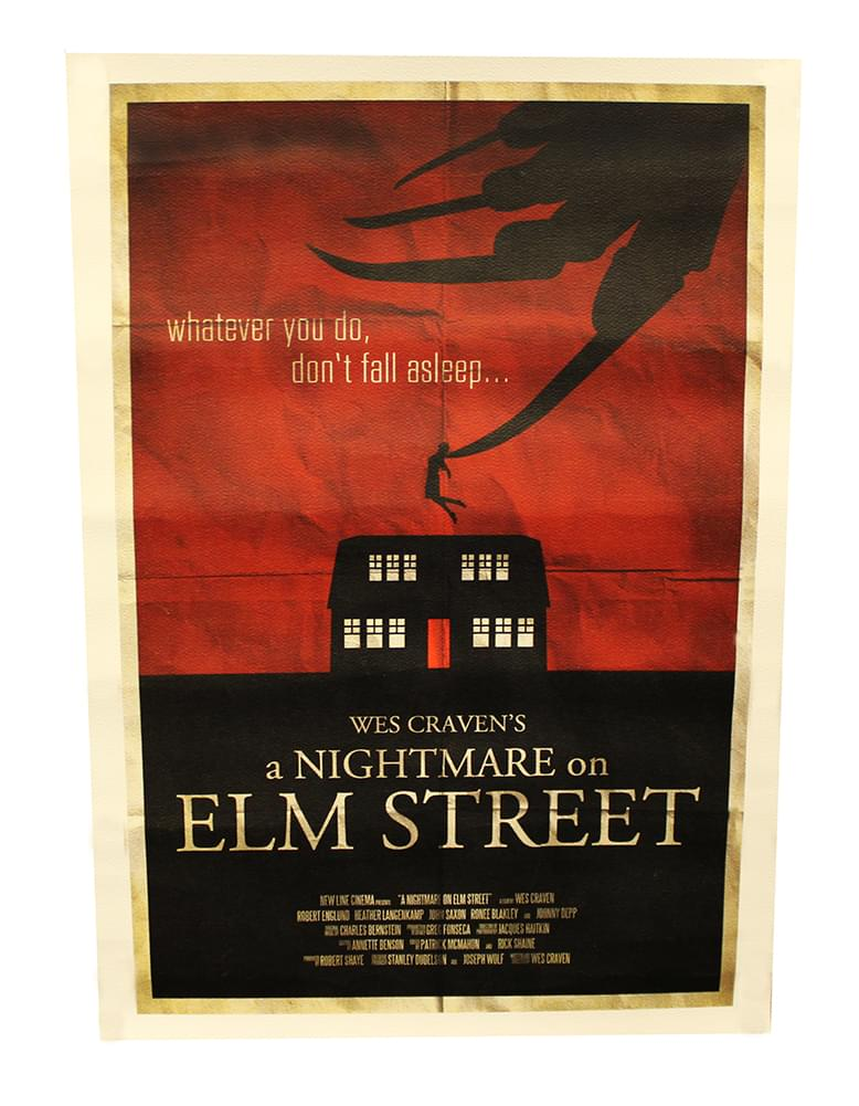 "A Nightmare on Elm Street 12""x17"" Movie Poster (Nerd Block Exclusive)"